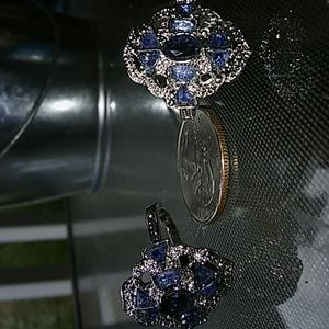 Jewelry - 2 for $20 Blue and silver ring